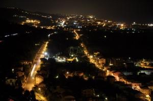 Porto San Giorgio di notte
