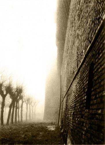 Correggio - La Rocca nella nebbia