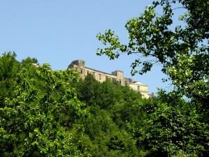 Un castello  nel verde