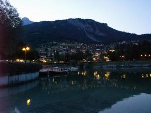 Molveno dal lago .. di notte