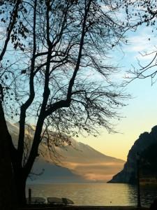 La carezza del tramonto