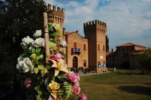 vista laterale del castello