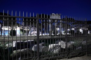 Via dei Fori Imperiali by night