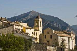 Veduta di Montefranco (TR)