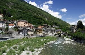 Villadossola, il fiume ovesca