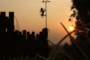Torretta al tramonto