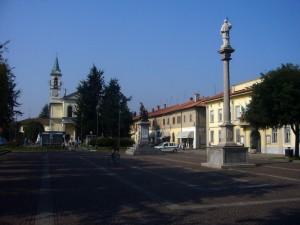 Cornaredo: piazza Libertà