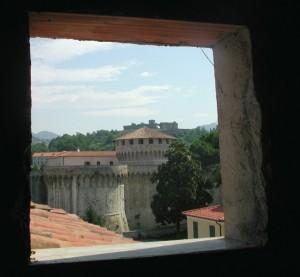 La cittadella e la Fortezza di Sarzanello