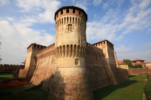 Soncino - veduta del castello