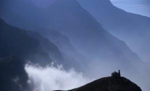 Ceresole … cappella Madonna della Neve, salendo verso il Nivolet