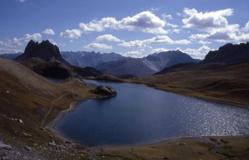 Argentera - laghi di Roburent, comune di Argentera
