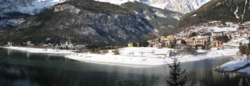 Molveno - Panorama invernale