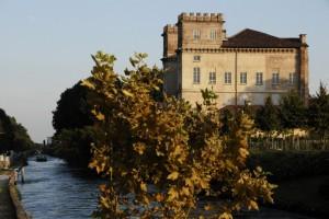 Scorcio del castello di Robecco