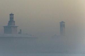 Un castello fra la nebbia