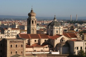 Panorama sulla città di Eleonora.