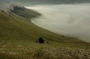 Nebbie sull'altopiano