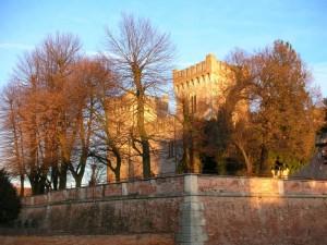 Bevilacqua - Castello al tramonto