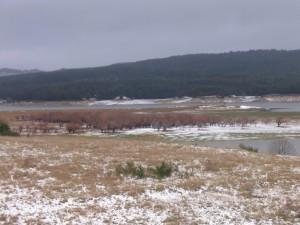 l'inverno sul lago !