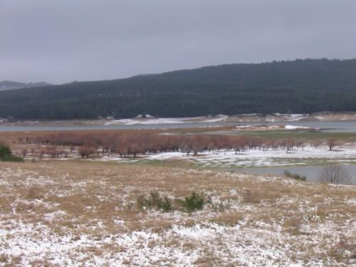 Spezzano della Sila - l'inverno sul lago !