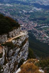 Panorama dalla vetta del Monte Cengio
