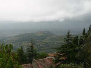 Pioggia a Campiglia
