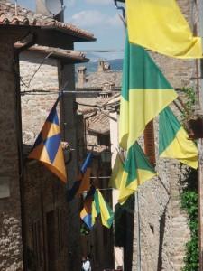 Strade di Montone