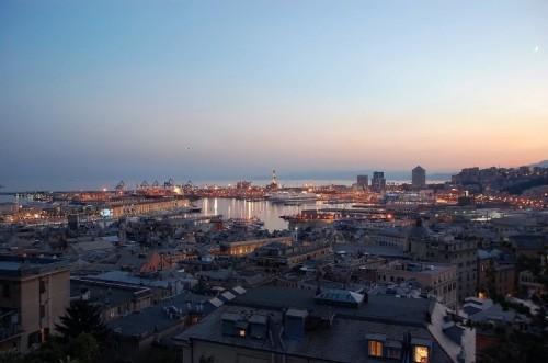 """Genova - """"tramonto da Castelletto"""""""