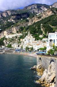 arrivando ad Amalfi…