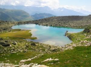 Lago Tzan … che colori!!!