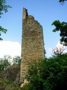 le rovine della torraccia