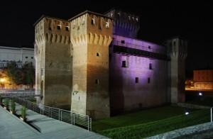 Il Castello di San Felice sul Panaro …di notte.