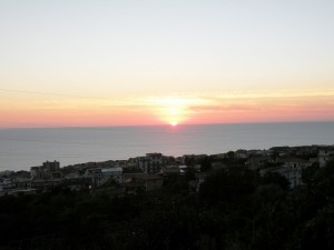 tramonto di Paola