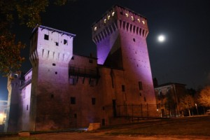 Il Castello di San Felice sul Panaro …di notte.1
