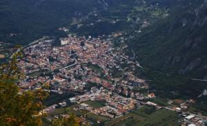 L'abitato di Arsiero - Visto dal Monte Cengio