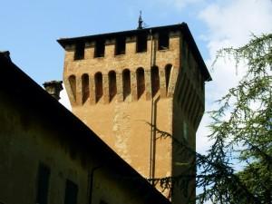 Castello Malvasia torre sul lato nord