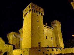 Facciata posteriore del Castello di Vignola