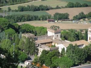 Castello di S.Girolamo, vista dalla Rocca Albornoz