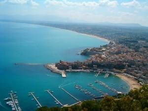 Panoramica su Castellammare