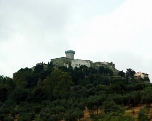 Il castello di Capalbio