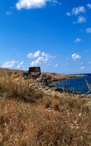 Torre costiera sul golfo