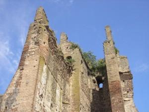 resti della torre  del castello scaligero