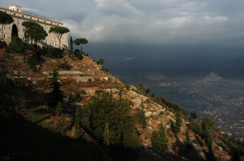 Cassino - ....... dall'Abbazia ........