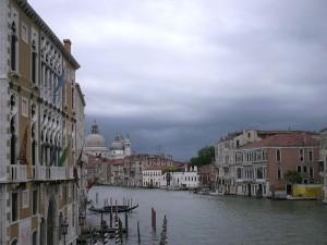 A Venezia senza ombrello!