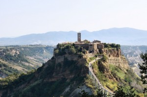 Civita Bagnoregio, panorama
