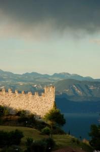 Temporale sul castello