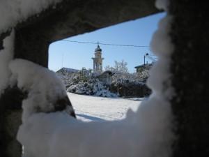 Finestra di neve