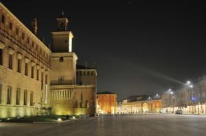Castello dei Pio e piazza dei Martiri