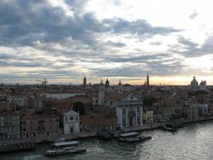 Il panorama della bella Venezia