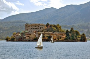Isola San Giulio-lago d'Orta