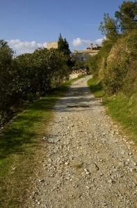 A piedi verso il Castello…